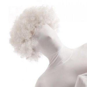 NWT Morphsuits Adult Men/Women Fuzzy White Wig